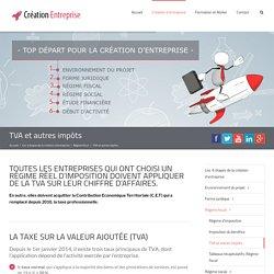 TVA et autres impôts - Création Entreprise Guide