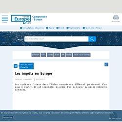 Comparatif : La fiscalité en Europe