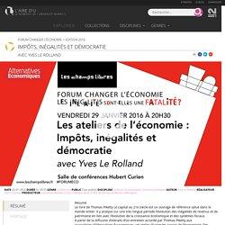 Impôts, inégalités et démocratie