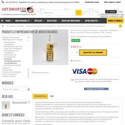 Biovectrol Tissu spray anti-moustiques - imprégnation moustiquaire