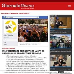 Fake news, l'imprenditore che gestisce 19 siti pro-Salvini e pro-M5S