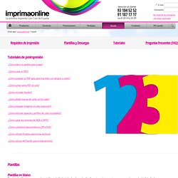 Imprenta offset online - Imprenta digital online