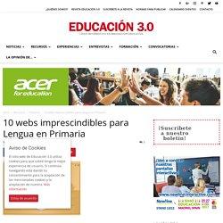 10 webs imprescindibles para Lengua en Primaria