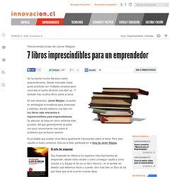 7 libros imprescindibles para un emprendedor