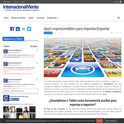 App's imprescindibles para Importar/Exportar
