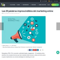 Las 20 palabras imprescindibles del marketing online - Ve Interactive Spain