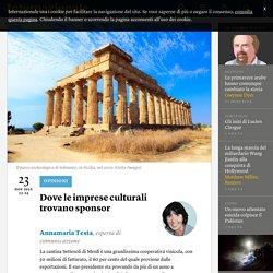 Dove le imprese culturali trovano sponsor - Annamaria Testa