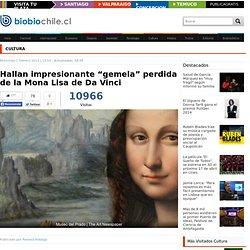 "Hallan impresionante ""gemela"" perdida de la Mona Lisa de Da Vinci"