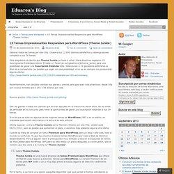 15 Temas Impresionantes Responsive para WordPress (Theme Junkie)