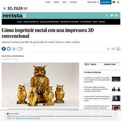 Cómo imprimir metal con una impresora 3D convencional