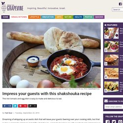 Impress your guests with this shakshouka recipe