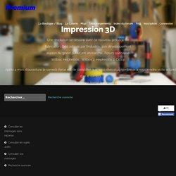 Matériaux pour l'impression 3D