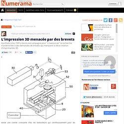 L'impression 3D menacée par des brevets