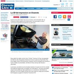 La 3D fait impression en Charente