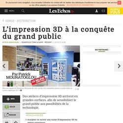 L'impression 3D à la conquête du grand public, Conso - Distribution