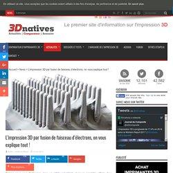 L'impression 3D par fusion de faisceau d'électrons