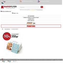 Impression cartes de fidélité - Imprimerie en ligne Rapid-flyer