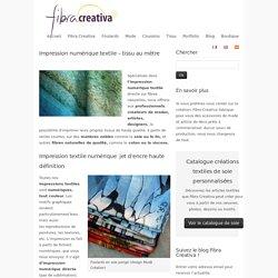 Impression numérique textile - tissu au mètre – Fibra Creativa