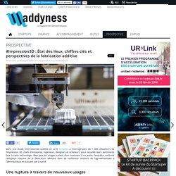 #Impression3D : État des lieux, chiffres clés et perspectives de la fabrication additive