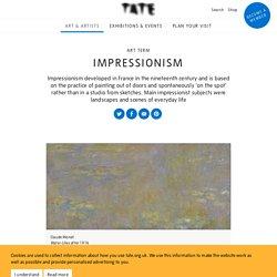 Impressionism – Art Term