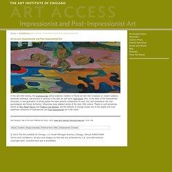 Art Access: Impressionist and Post-Impressionist Art