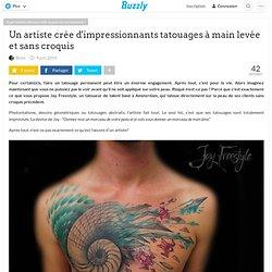 Un artiste crée d'impressionnants tatouages à main levée et sans croquis