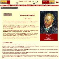 L'Impressionnisme - Biographie de Vincent VAN GOGH