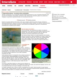 L'impressionnisme : la science des contrastes