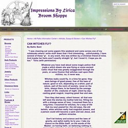 Impressions By Lirica All Paths Information Center - Can Witches Fly?