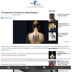 118 Impressive Architecture Tattoo Designs