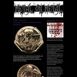 Kris Kuksi: Impressive detailed macabre sculptures