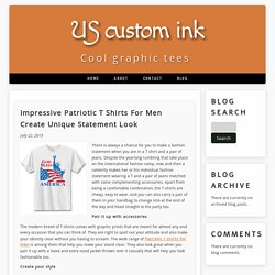 Impressive Patriotic T Shirts For Men Create Unique Statement Look