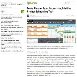 Tom's Planner
