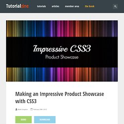 Making an Impressive Product Showcase with CSS3