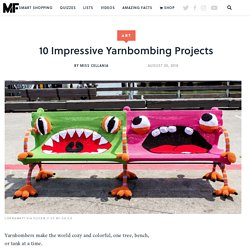 10 Impressive Yarnbombing Projects
