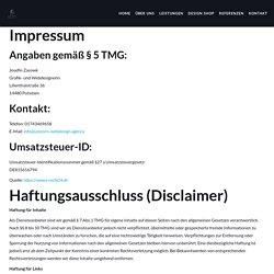 Impressum & Datenschutz