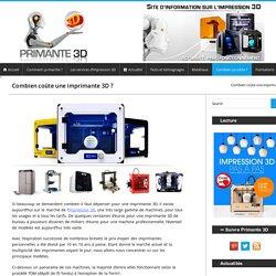 → Imprimante 3D prix et achat
