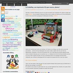 La FoldaRap, une imprimante 3D open source, pliante !