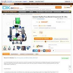 Geeetech RepRap Prusa Mendel I3 Imprimante 3D - Bleu