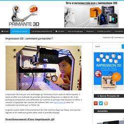 Fonctionnement d 39 une imprimante 3d pearltrees - Imprimante 3d fonctionnement ...