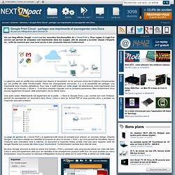 Google Print Cloud : partager une imprimante et sauvegarder vers Docs - Actu PC INpact