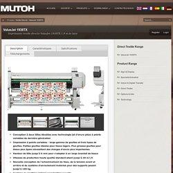 Imprimante textile directe ValueJet 1938TX 1,9 m de laize