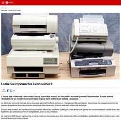 La fin des imprimantes à cartouches?
