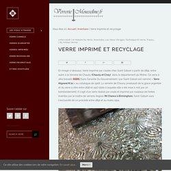 Verre imprimé et recyclage – L'atelier du verre Mousseline
