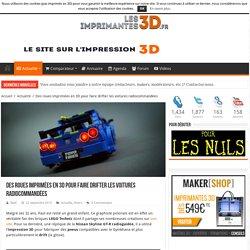 Des roues imprimées en 3D pour faire drifter les voitures RC