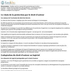 L'adaptation du droit d'auteur au logiciel - Legavox.fr