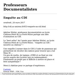 Imprimer : Enquête au CDI