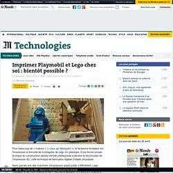Imprimer Playmobil et Lego chez soi : bientôt possible ?