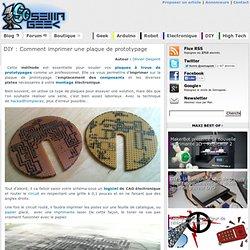 Comment imprimer une plaque de prototypage