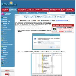 Imprimer plus de 15 fichiers simultanément - Windows 7